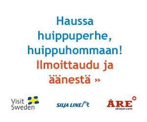 Lähetä hakemuksesi ja kuittaa maksuton elämysmatka perheellesi Åreen