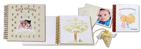 Ilmainen vauvakirja - talleta lapsesi ensimmäisen vuoden muistot