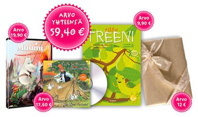 Lasten Parhaat Kirjat - tutustumispaketti (arvo: 59,40 e) maksutta!