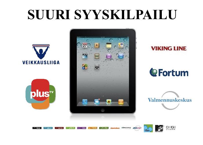 Voita iPad 2 Fortumin ja Viking Linen kilpailusta