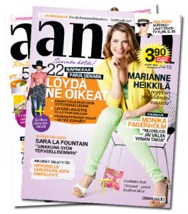 Tilaa Anna-lehti ilmaiset näytenumerot (2 kpl)