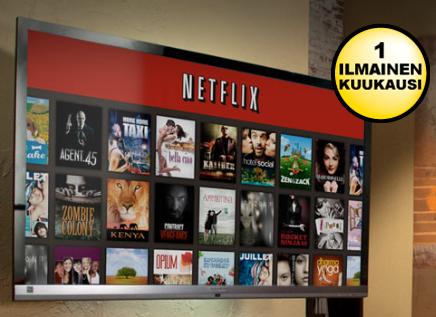 Tilaa Netflix ilmaiseksi 1 kk ajan