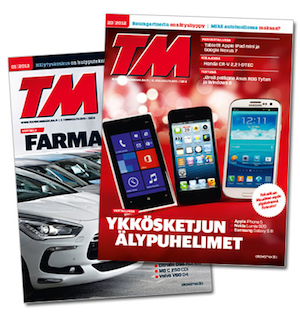 Tilaa Tekniikan Maailman lehti - ilmainen näytenumero tästäa