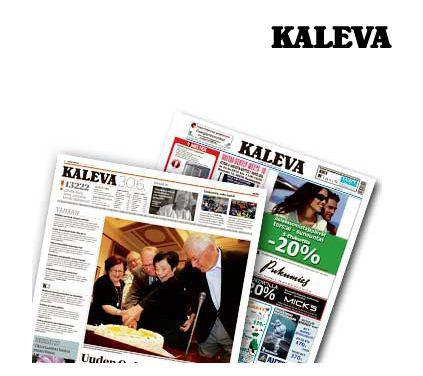 Tilaa Kaleva -lehden 1 kk ilmainen näytejakso